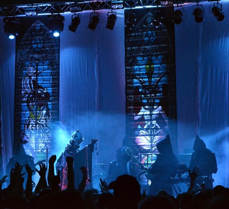 Ghost group rock satanic