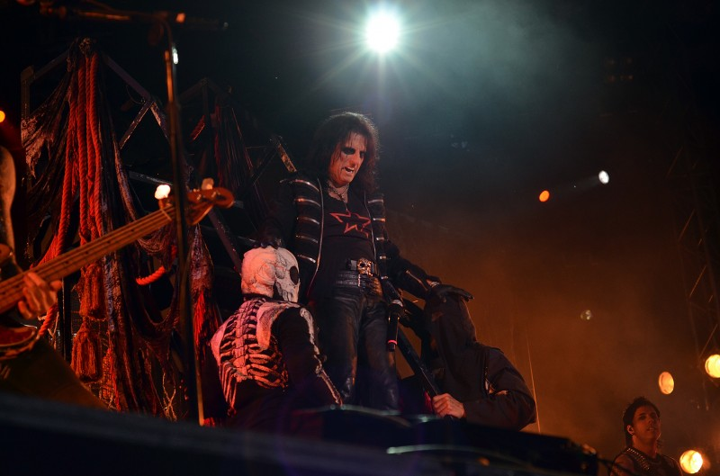 Alice Cooper at getaway rock festival