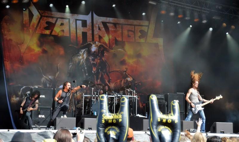 getaway rock festival gavle sweden 2011