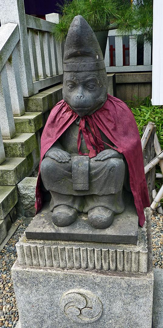 Monkey God Sarugami At Hie Jinja 171 Traveljapanblog Com