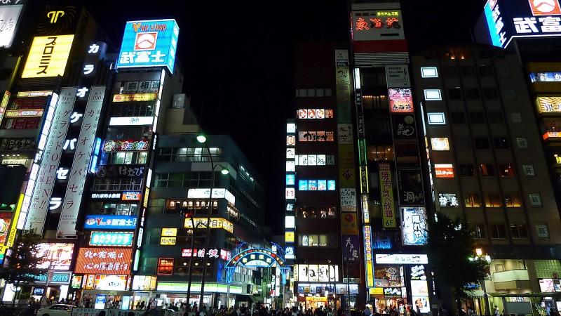 kabukicho night photography