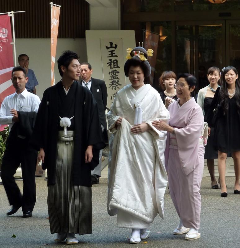 日枝神社 新婦