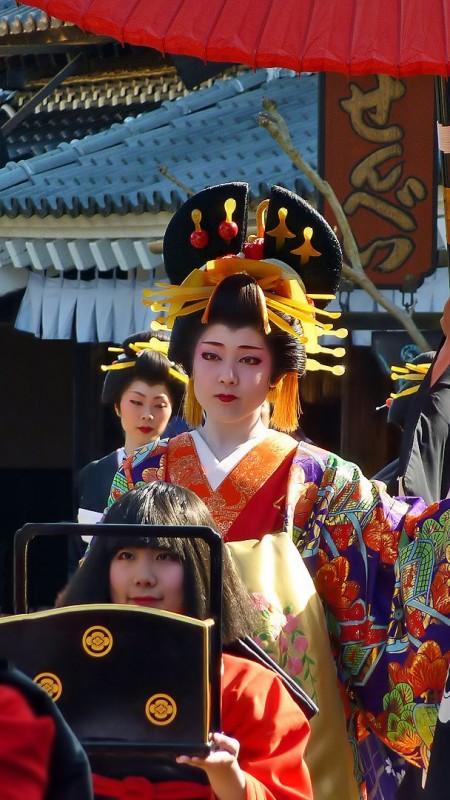 花魁 oiran senbei