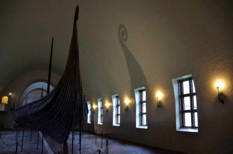authentic real viking ship oslo norway