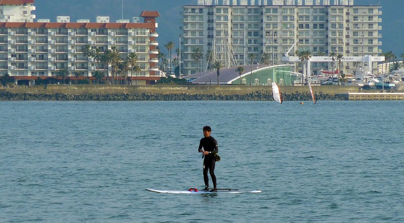 kamakura japan windsurfing