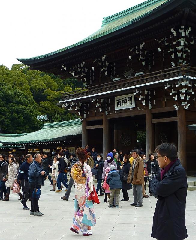 kimono girl japanese female tokyo japan