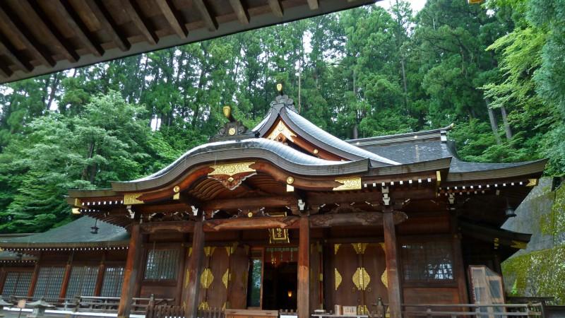 桜山八幡宮 sakurayama hachimangu takayama shrine japan