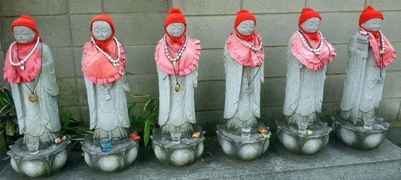 six jizo realms of existence oji tokyo ooji