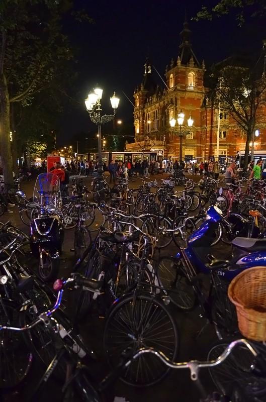 Leidseplein after dark