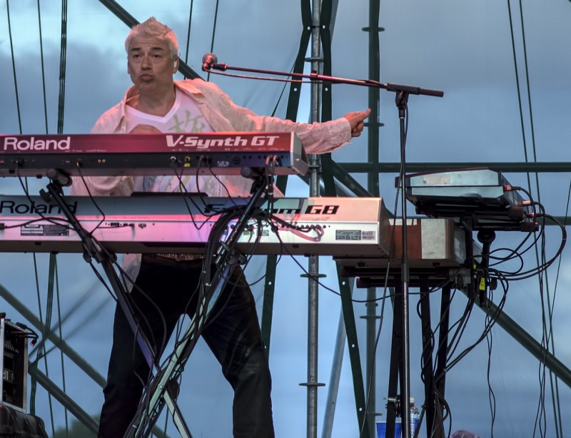 keyboards Foreigner Ollie Marland jackson county fair