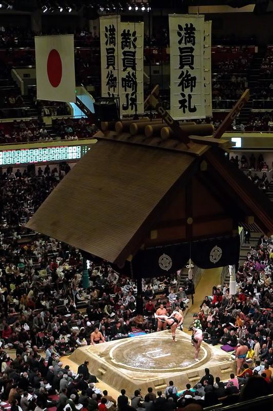 相撲 maningorei manin gorei sumo tokyo