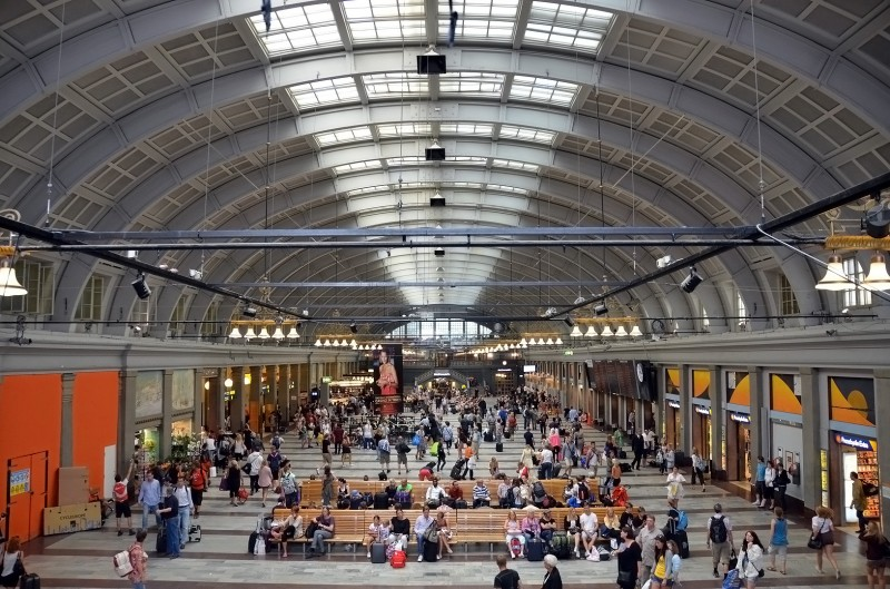 stockholm central station sweden