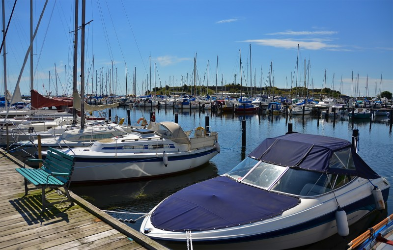 dragor harbour denmark
