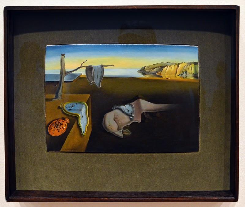 The Persistence of Memory La persistencia de la memoria 1931 painting artist Salvador Dalí new york city museum of modern art
