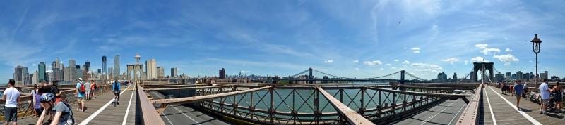 manhattan bridge brooklyn photoshop photomerge cs6 nikon d7000 tokina 11-16mm f/2.8 len