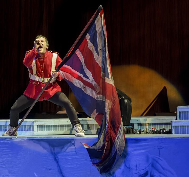 bruce dickinson british flag shoreline