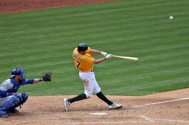 Adam Rosales oakland athletics baseball mlb sports photography nikon d7000