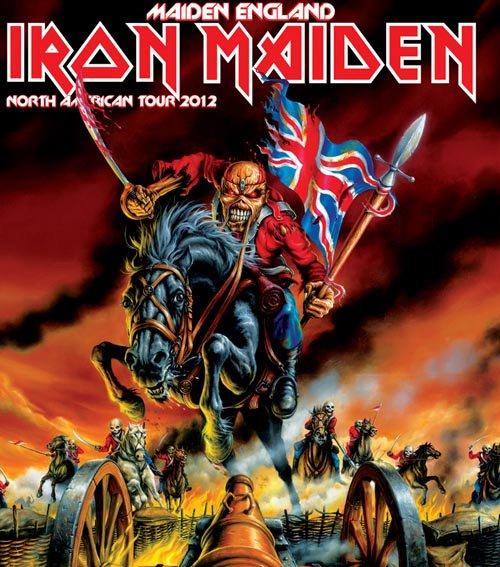 eddie iron maiden poster world tour dates 2012