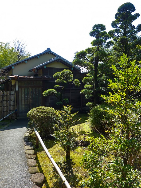 teahouse ikegami tokyo japan