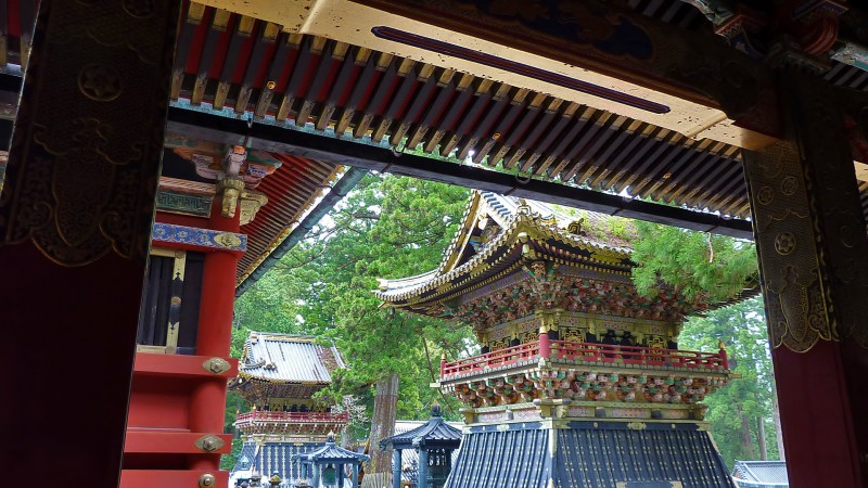 toshogu nikko japan famous shrine