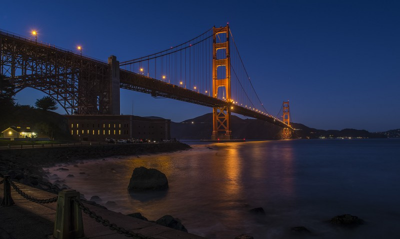golden gate bridge blue -#main