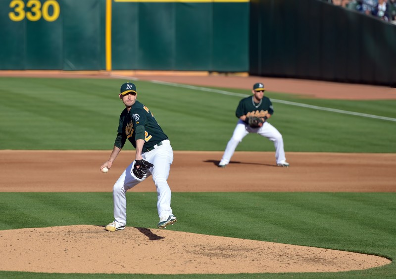 brandon mccarthy pitching a's diamondbacks arizona oakland