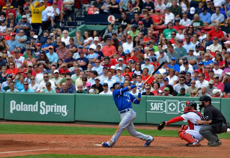 jose bautista home run fenway park