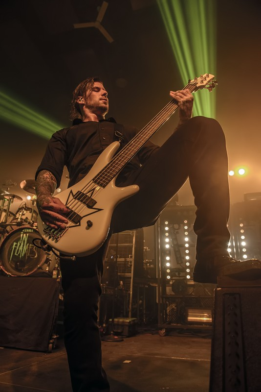 aaron patrick bass in flames devil driver