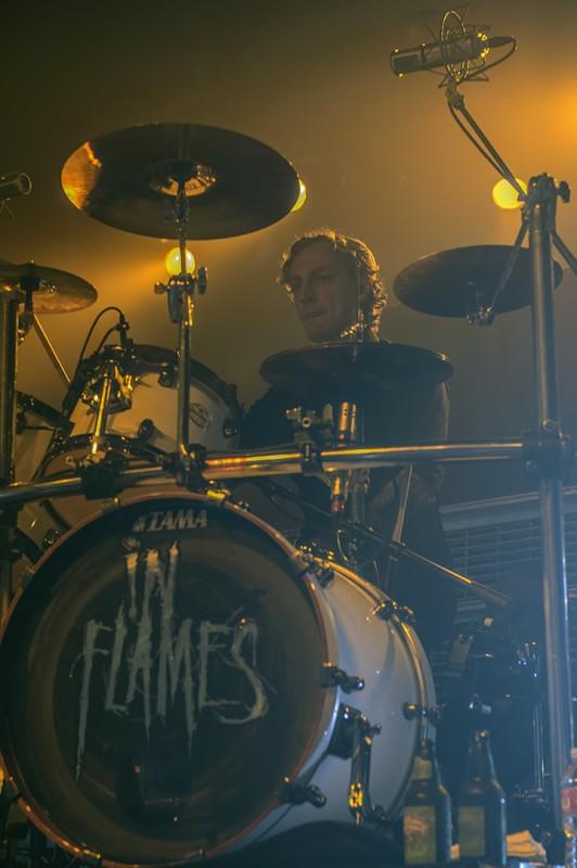 in flames drummer daniel svensson