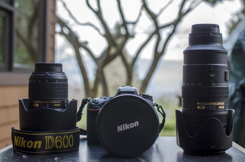 nikon d600 f2.8 lenses