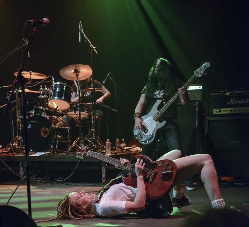 angus young hell's belles mcdonald theatre adrian conner eugene oregon