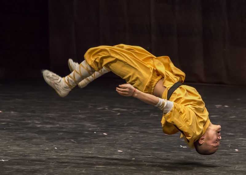 kung fu flip shaolin temple chinese performance sou music hall