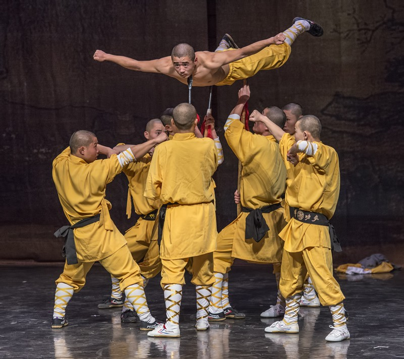 shaolin temple monks kung fu sword balance ashland oregon sou music recital hall