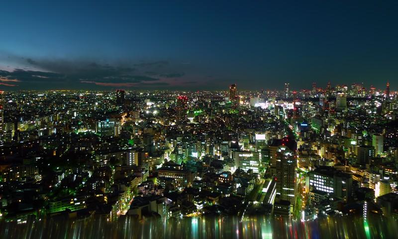 tokyo night meguro shibuya shinjuku