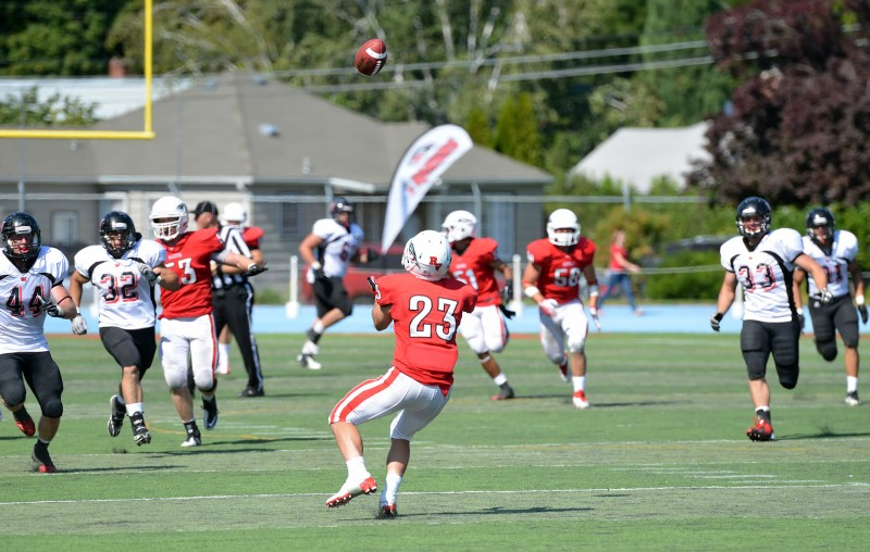 sou raiders football #23 Mike Olson