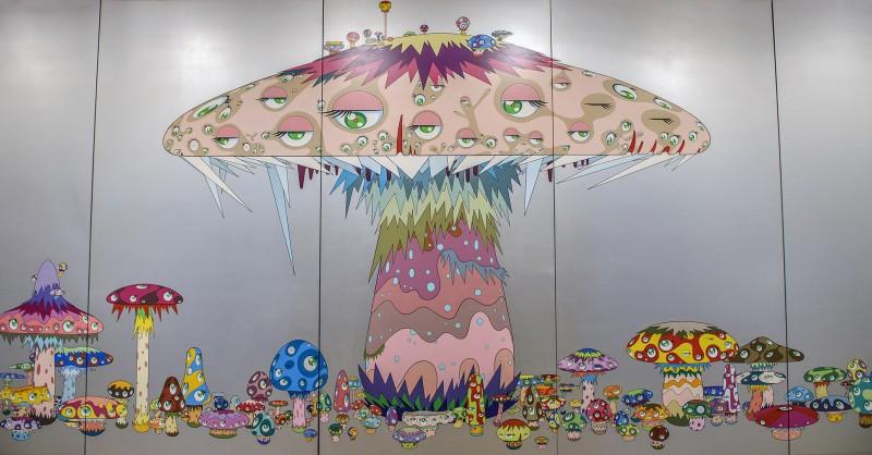takashi murakami super nova san francisco museum of modern art sfmoma