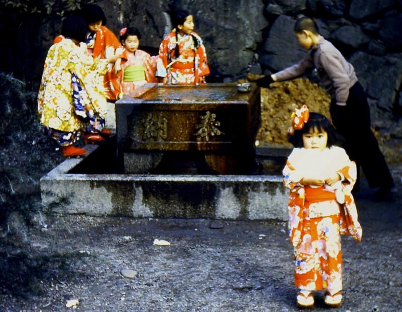 japanese girl 1950s geta camp kokura depot korean war