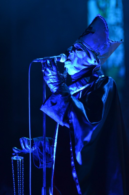 ghost b.c. fox theater oakland papa emeritus ii thurible censer