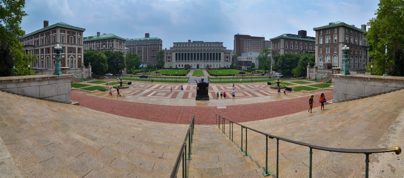 columbia university photomerge photoshop new york ivy league