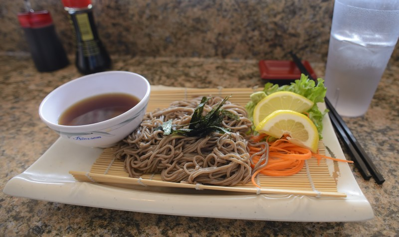 笊蕎麦 zaru soba star sushi ashland oregon japanese food