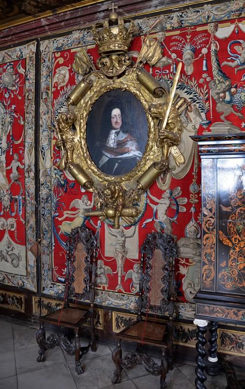 Rosenborg Castle Slot copenhagen denmark