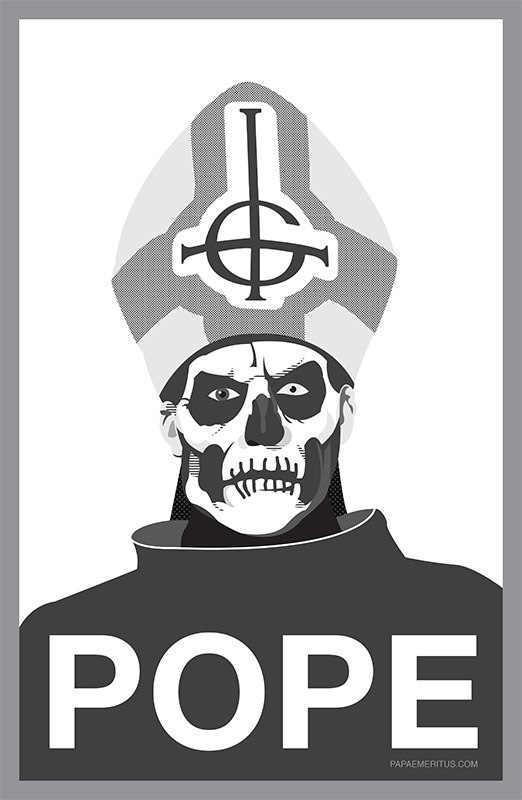 ghost bc pope hope obama papa emeritus ii