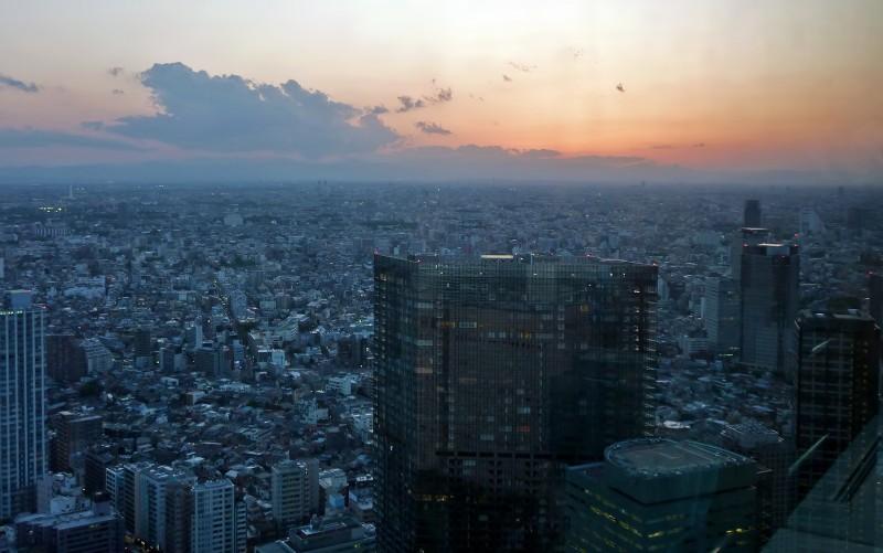 新宿住友ビルディング tokyo sunset sumitomo