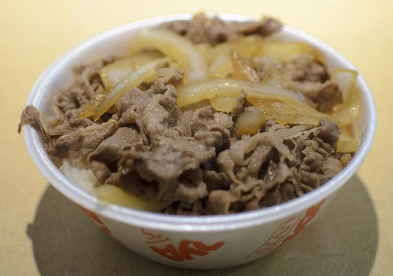 yoshinoya beef bowl gyudon
