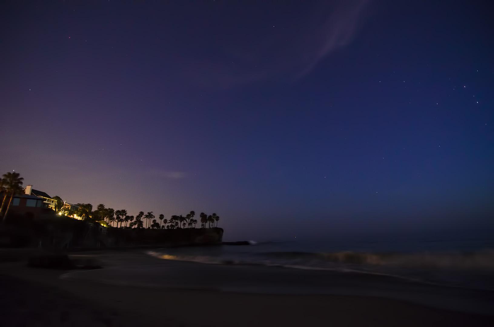 laguna beach sunset california