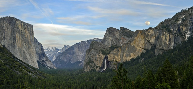photomerge yosemite tunnel view