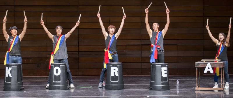south korea people's republic SOU ISA international show 2013 nanta
