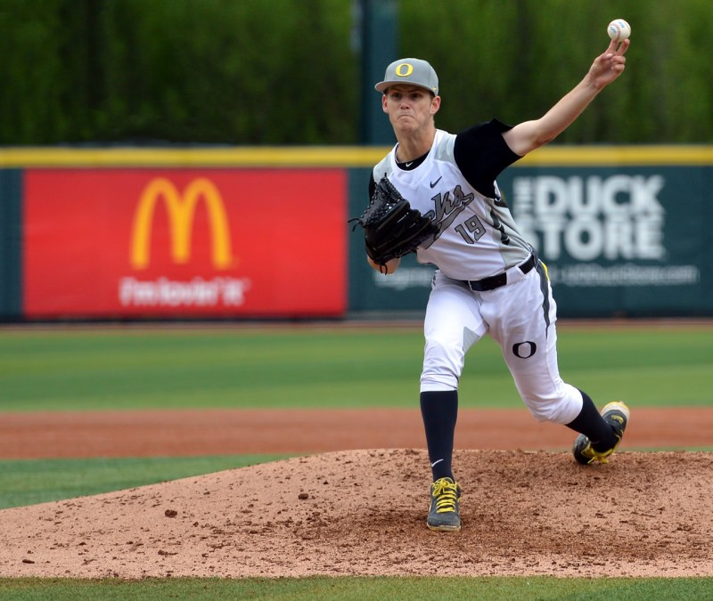 oregon ducks baseball Cole Irvin