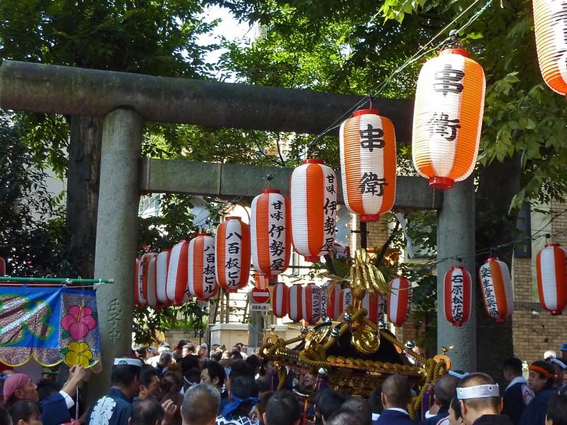 天祖神社祭り