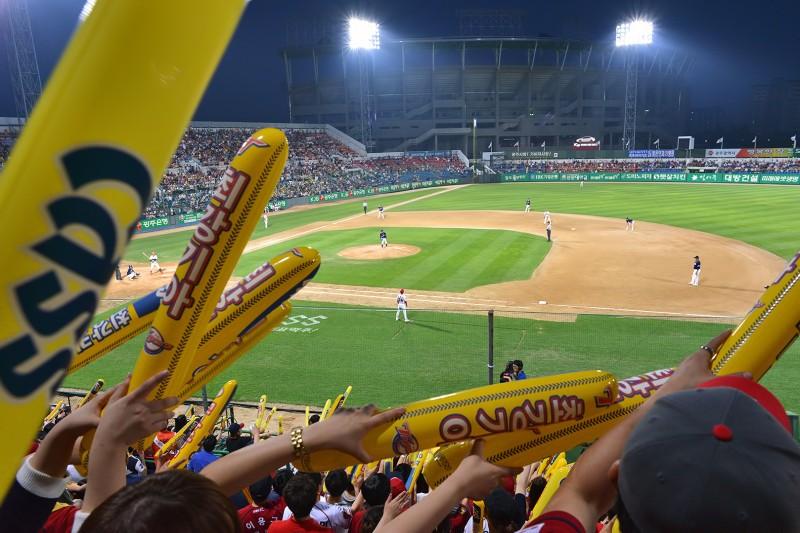 kia tigers fans Gwangju Mudeung Baseball Stadium 광주무등경기장 야구장